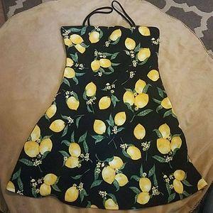 Mini lemon dress